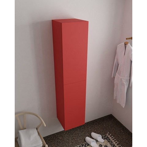 Mondiaz Beam hoge kolomkast 160x35x35cm met 2 deuren - Fire