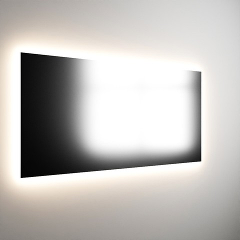 Mondiaz Bright spiegel 120x70cm met indirecte led verlichting rondom