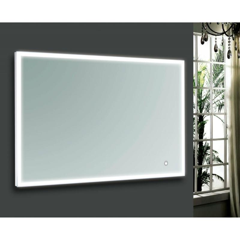 Blinq Gefion spiegel 100 x 80 cm. met led verlichting rondom