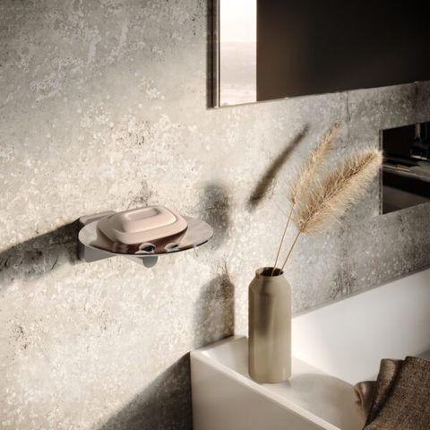 Hotbath Gal GLA02BBP zeephouder - Geborsteld messing PVD