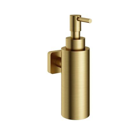 Hotbath Gal GLA09BBP zeepdispenser wandmodel - Geborsteld messing PVD