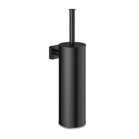 Hotbath Gal GLA11BGP wc-borstelgarnituur wandmodel - Geborsteld gunmetal PVD