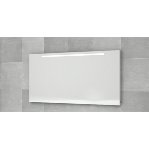 Bruynzeel  spiegel 160x70 bxh met horizontale tl verlichting