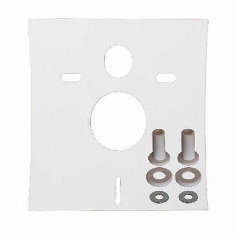 De beer  isolatieset basic voor wandcloset 5 mm. wit