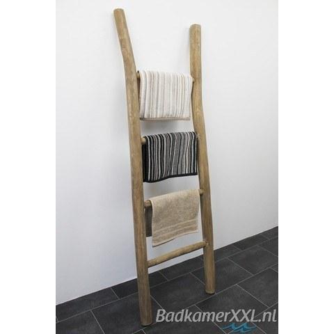 Bewonen Teun badkamer decoratie ladder