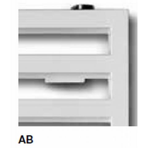 Vasco Arche AB designradiator 87 x 50 cm (H x L) wit ral 9016