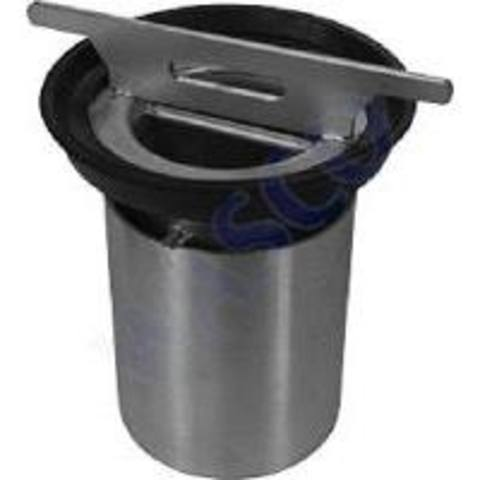 Aco Flexdrain stankslot 50 mm.waterslot v/75 mm. spie onderuitl. rvs