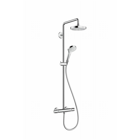 Hansgrohe Croma Select S180 2jet showerpipe wit-chroom