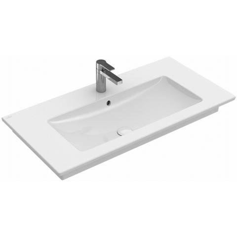 Villeroy & Boch Venticello meubelwastafel 80cm 1 kraangat zonder overloop wit