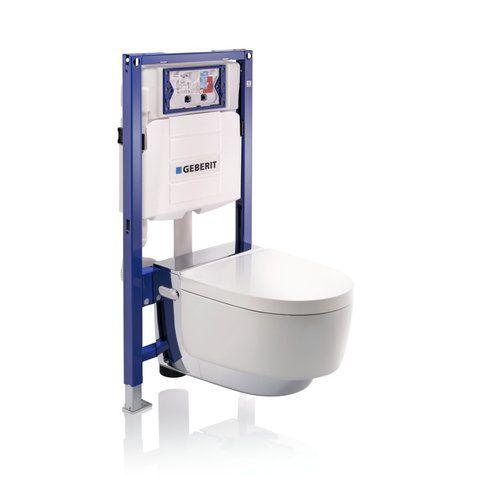 Geberit Aquaclean mera comfort wandcloset douche wc chroom