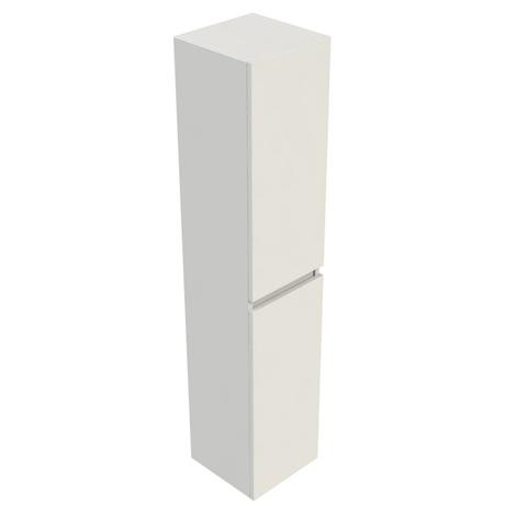 Blinq Tania kast hoog 35x35x170 cm.met 2 deuren li. of re. wit gelakt