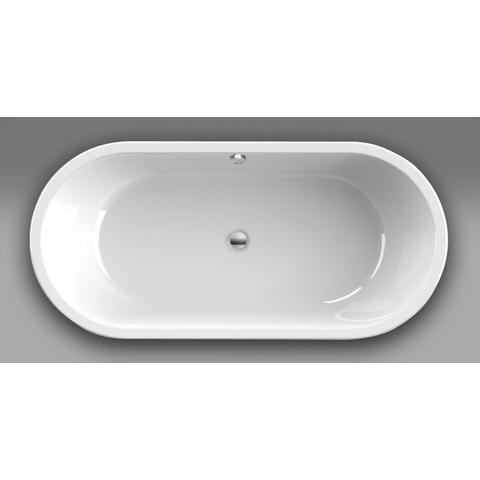 Xenz Rens vrijstaand bad 190x90cm mat wit