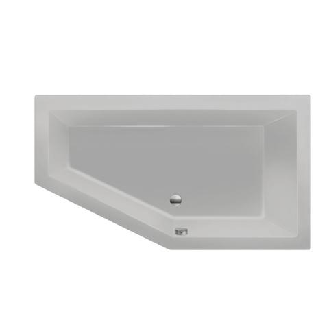 Xenz Society 160 bad 160x90cm rechts asymmetrisch Cement