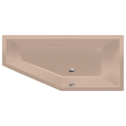 Xenz Society Compact bad 170x75cm rechts asymmetrisch Bahama beige