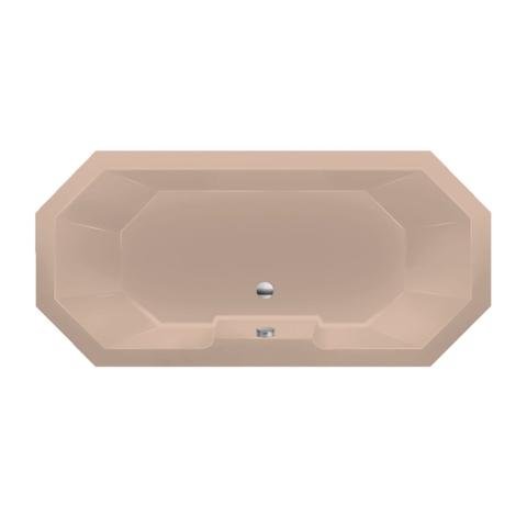 Xenz Sumba achthoekig bad 175x80cm Bahama beige
