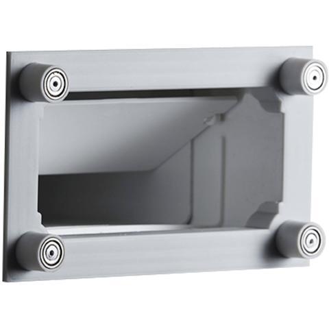 Sunshower ventilatieroosters (2 stuks) - rechthoek 15x9cm - White