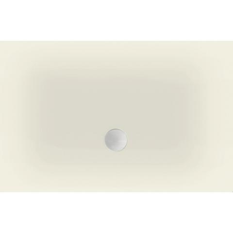 Xenz Flat douchevloer 100x80 cm Edelweiss