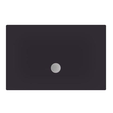 Xenz Flat douchevloer 100x90 cm Antraciet