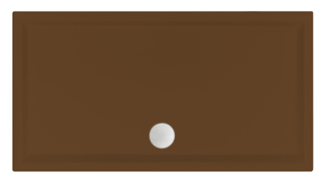 Xenz Mariana douchebak 120x70cm Klei