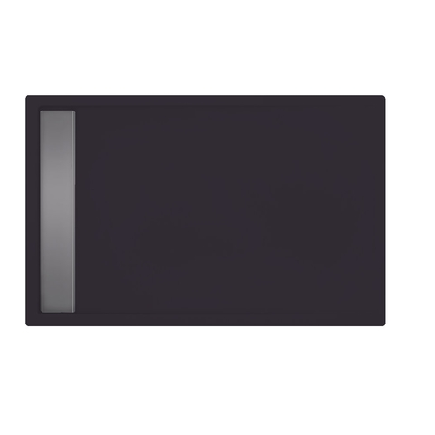 Xenz Easy Tray douchevloer 100x80cm Antraciet