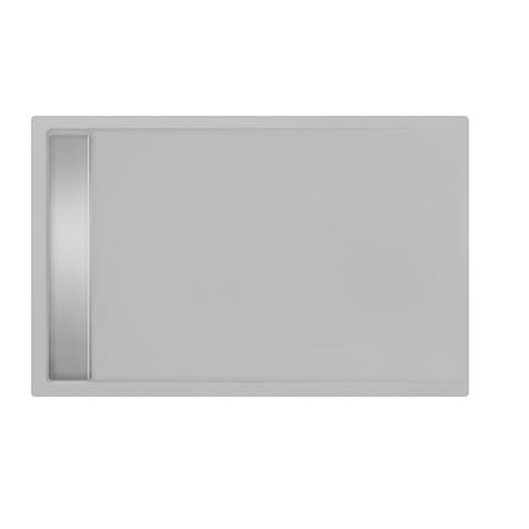 Xenz Easy Tray douchevloer 100x80cm Cement
