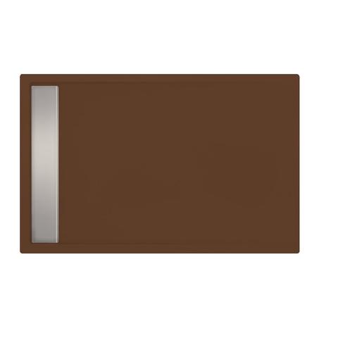 Xenz Easy Tray douchevloer 110x80cm Klei