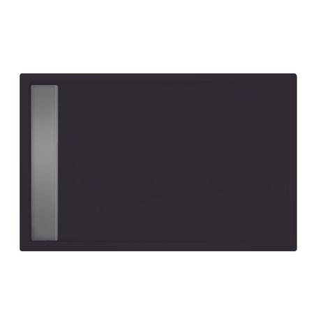 Xenz Easy Tray douchevloer 120x80cm Antraciet