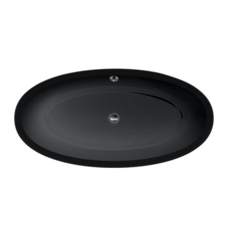 Xenz Britt vrijstaand bad XS 170x85cm glans zwart