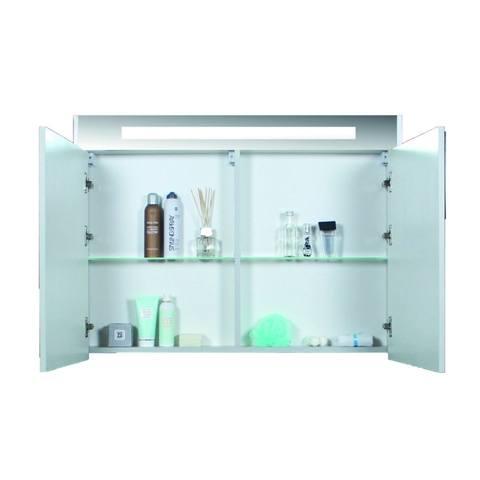 Blinq Ace spiegelkast Premium 100cm - eiken donker
