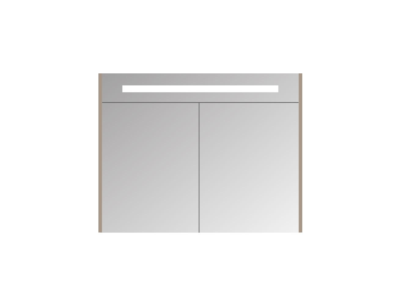 Blinq Ace spiegelkast Premium 80cm - eiken donker