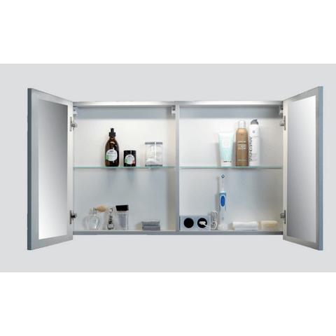 Blinq Ace spiegelkast comfort 80cm - eiken donker