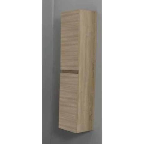 Bewonen Luuk hoge kast 145x30x30cm - eiken - bouwpakket