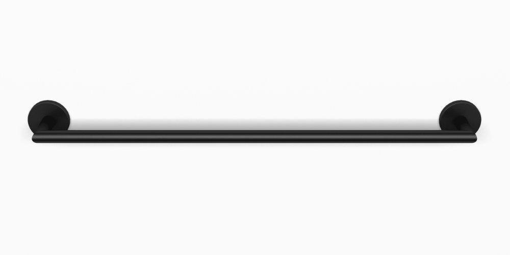 Blinq Columbus handdoekrek 60 cm mat zwart