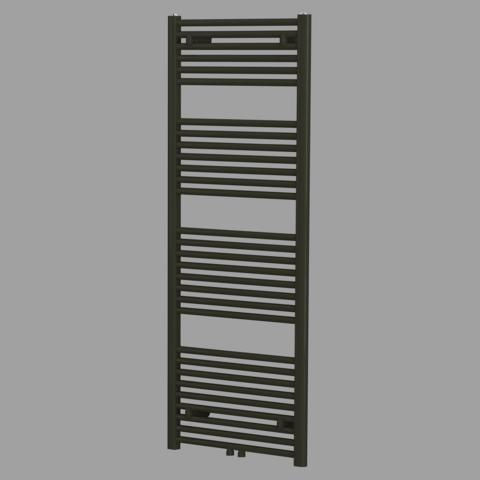 Blinq Altare R handdoekradiator 120 x 60 cm (H X L) mat zwart