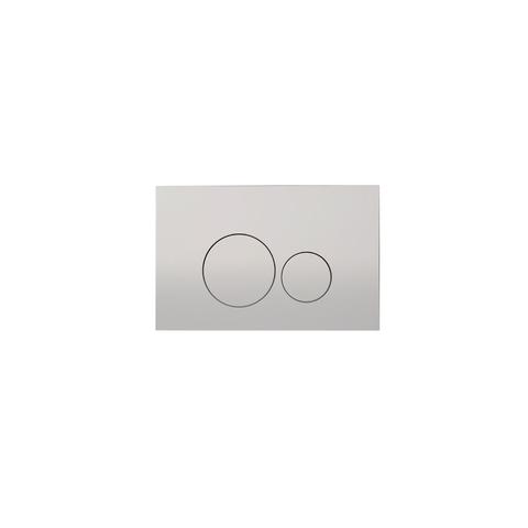 Blinq Chelmer bedieningsplaat ronde knoppen chroom