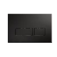 Blinq Chelmer bedieningsplaat rechthoekige knoppen mat zwart