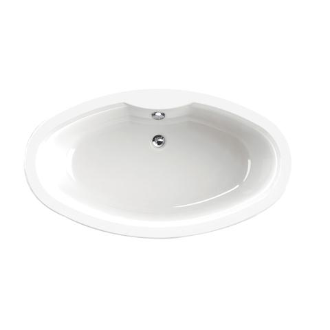 Xenz levi vrijstaand bad 180x95cm mat wit