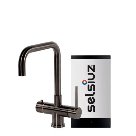 Selsiuz kokendwaterkraan haaks - gunmetal - single boiler
