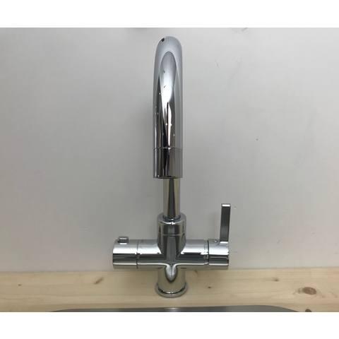 Selsiuz kokendwaterkraan rond - chroom - combi boiler