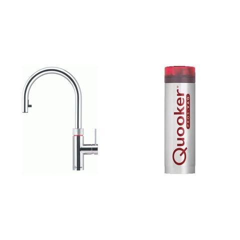 Quooker Flex kokend water keukenmengkraan - chroom - met Pro3 boiler