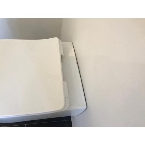 Bewonen Daniël hangtoilet Rimless met Softclose zitting - mat wit