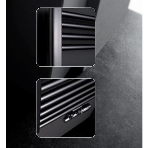Instamat Rondo Lux badkamerradiator 181 x 61,7 cm (H x L) antraciet sf3
