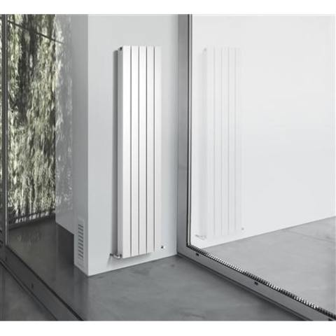 Thermrad AluStyle verticale designradiator 203,3 x 24 cm (H X L) wit