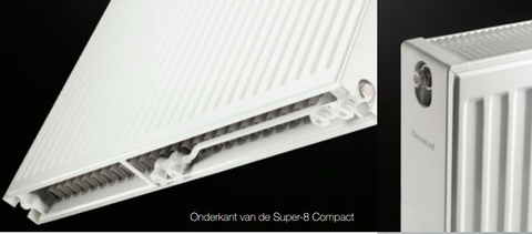 Thermrad Super 8 Compact paneelradiator type 11 - 140 x 60 cm (L x H)