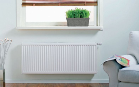 Thermrad Super 8 Compact paneelradiator type 22 - 280 x 40 cm (L x H)