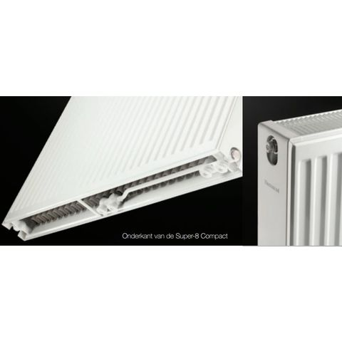 Thermrad Super 8 Compact paneelradiator type 22 - 220 x 50 cm (L x H)