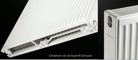 Thermrad Super 8 Compact paneelradiator type 33 - 110 x 50 cm (L x H)