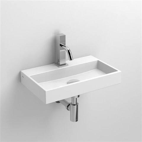 Clou Mini Wash Me fontein 38cm met kraangat wit keramiek
