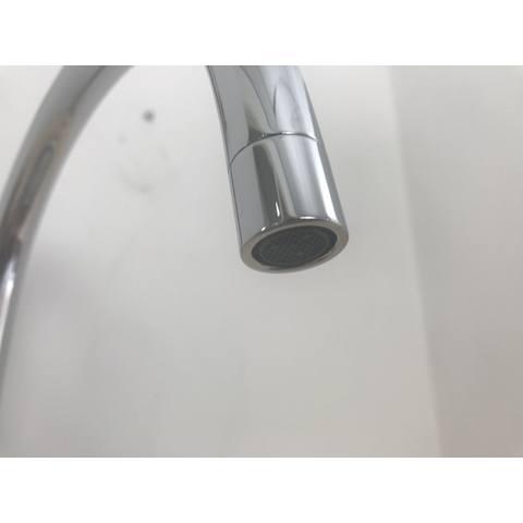 Blinq Gesina keukenkraan hoog gebogen uitloop chroom