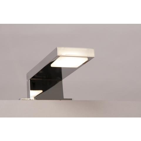 Blinq Gefion led verlichting 12,5cm.5,7w v/spiegel-spiegelkast chroom
